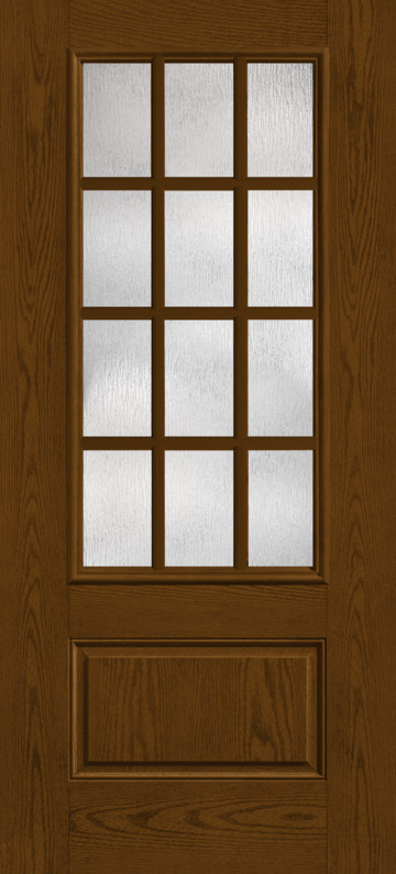 Fiber Classic 174 Oak Collection Fc92xr Sdl Therma Tru Doors